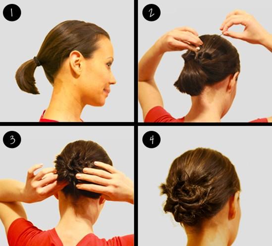 Как сделать быстро прическу на короткие волосы фото