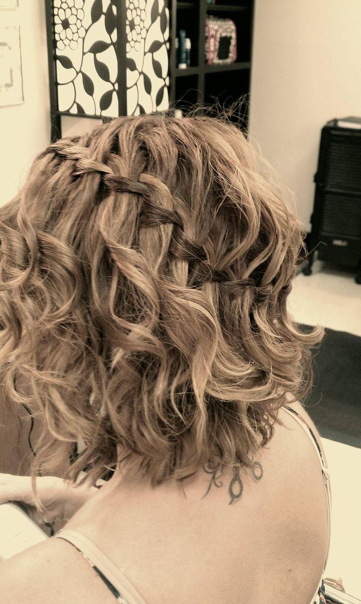 Плетение причесок на волосах по плечи